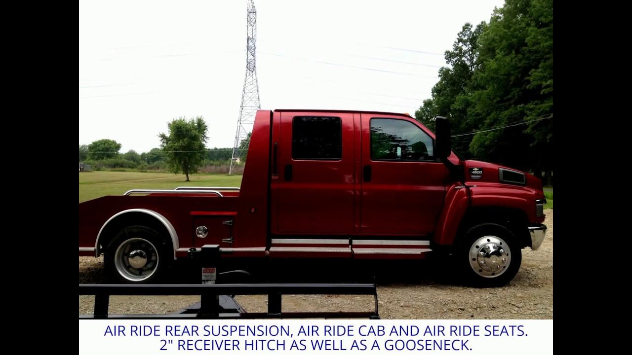 2007 CHEVY C4500 CREW CAB HAULER CUMMINS ENGINE SWAP?