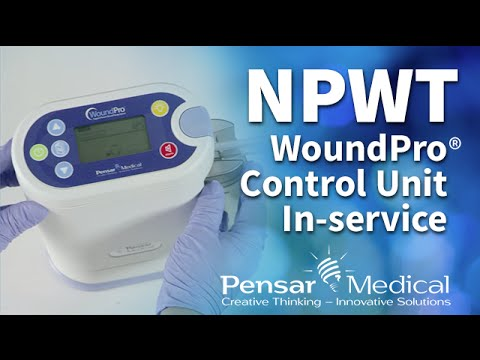 Pensar Medical Woundpro Negative Pressure Wound Therapy Control