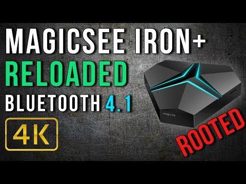 Magicsee Iron+ Amlogic S912 Octa Core 4K TV Box Review Reloaded