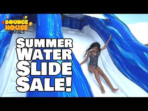 Austin Bounce House Rentals - Summer Water Slide HUGE SAVINGS In Austin TX!