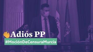 Intervención de Ginés Ruiz Maciá en la moción de censura del Ayuntamiento de Murcia