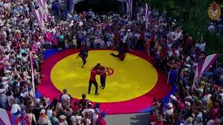 Армейские спортсмены провели «Олимпийское утро» в Хакасии