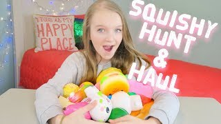 SQUISHY SHOPPING AT JUSTICE, TOYS R US, MICHAELS, AND STAPLES + SQUISHY HAUL | Bryleigh Anne