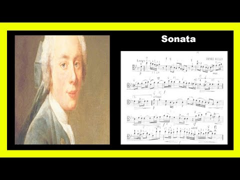 Henry Eccles Sonata G minore MOV I Largo For Doublebass