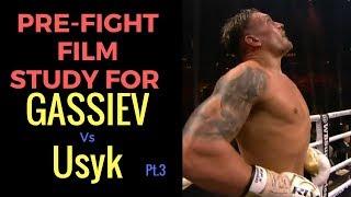 Oleksandr Usyk vs Murat Gassiev Pre fight Film Study vs Mairis Briedis Rd1-3