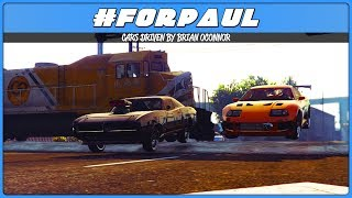 FAST & FURIOUS PAUL WALKER TRIBUTE CAR MEET (GTA 5 Online)