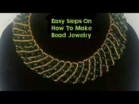 Easy Steps On How To Make Bead Jewelry/ Bracelet Design