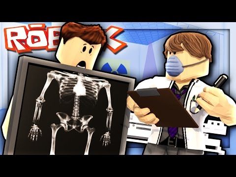 GETTING AN X-RAY IN ROBLOX! | Roblox Hospital