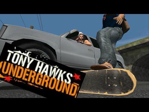 Tony Hawk Underground Gameplay 2: Runaway To Manhattan