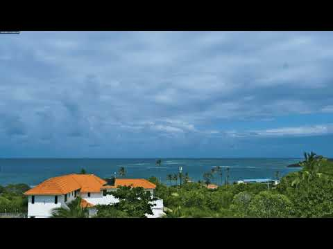 Monsoon winds over Mombasa, a timelapse