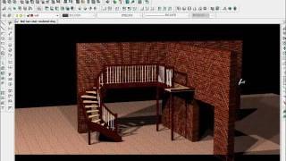 Stairdesigner And Progecad For 3d Stairs
