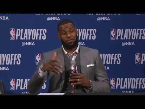 LeBron James Postgame Interview | Pacers vs Cavaliers - Game 3 | April 20, 2018 | 2018 NBA Playoffs