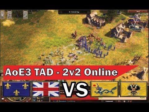 Fighting vs Chinese MAMELUKES in a 2v2 w/ Zoi & Xeeleeflower [AoE3 - 1v1]