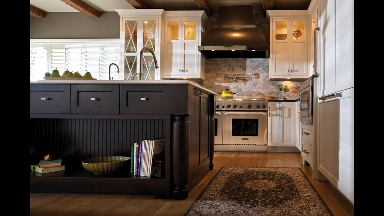 Kitchen Storage Solutions by Dura Supreme Cabinetry - YouTube