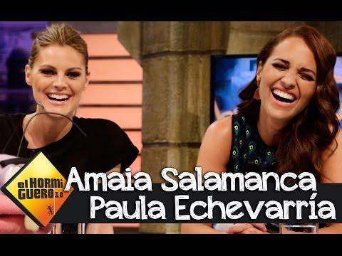 Paula Echevarría y Amaia Salamanca: