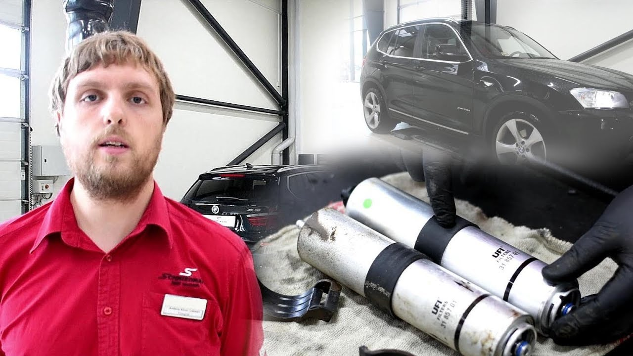 Diy Bmw X3 F25 20dx Fuel Filter Replacement By Schmiedmann Youtube Arnold Filters
