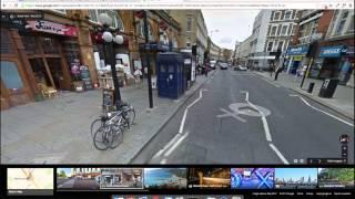 OVNI en Google Maps y Nave Dr.Who en Google Street View Free HD Video