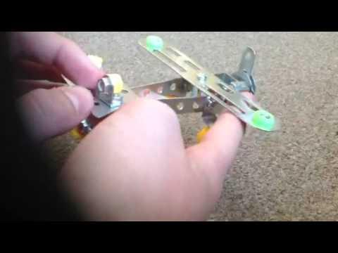 Metal kits aeroplane