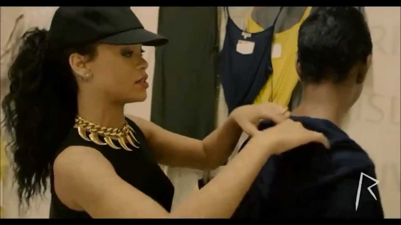 [HD] Rihanna For River Island Behind The Scenes 2