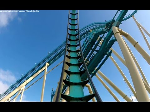 Kraken (Front Seat HD POV) - SeaWorld Orlando