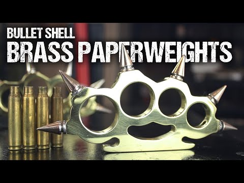 Thumbnail: How To Make Brass Knuckles, From Bullet Shells