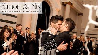 Simon & Nik | Same Sex Jewish wedding at Sunbeam Studios, London