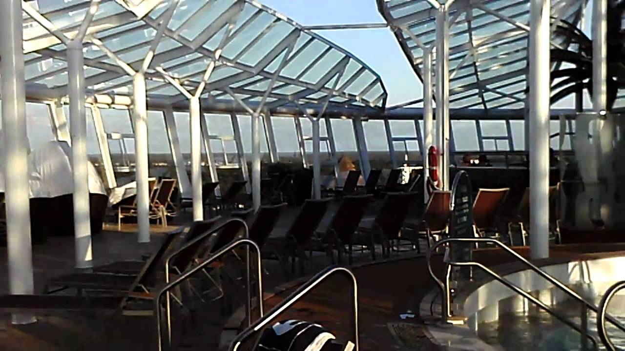 Royal Caribbean Allure Of The Seas Adults Only Solarium