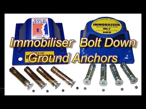 Introducing Immobiliser Bolt Down Ground Anchors