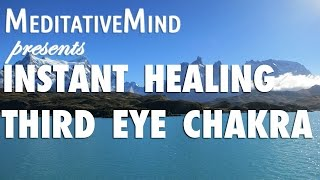 (almost) Instant Third Eye Chakra Healing Meditation Music - Anja