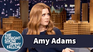 Amy Adams Cries Over Sriracha on Command