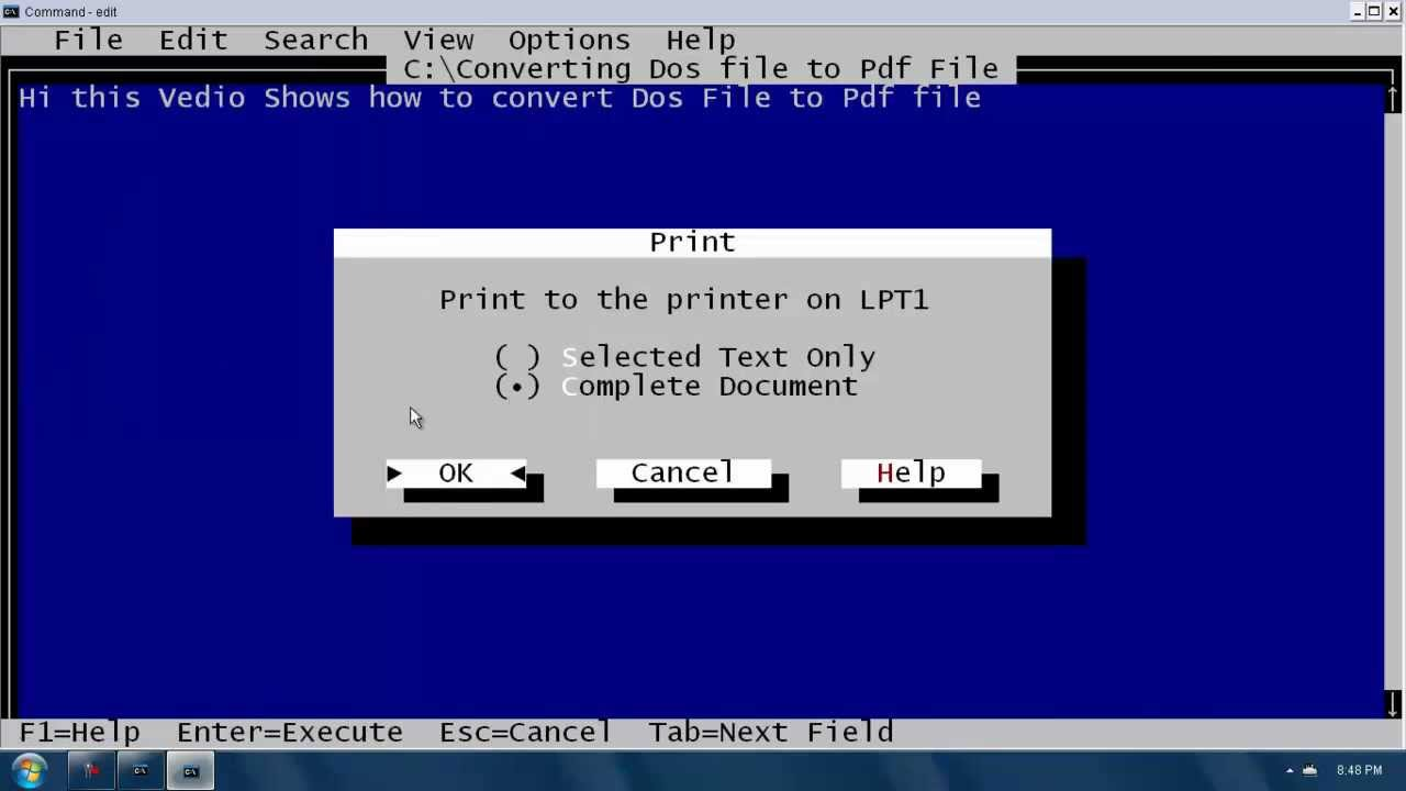 How to use ms dos: 7 steps (with pictures) wikihow.