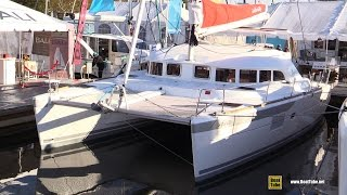 2016 Lagoon 380 Infiniti Catamaran - Deck and interior Walkaround - 2015 Annapolis Sail Boat Show
