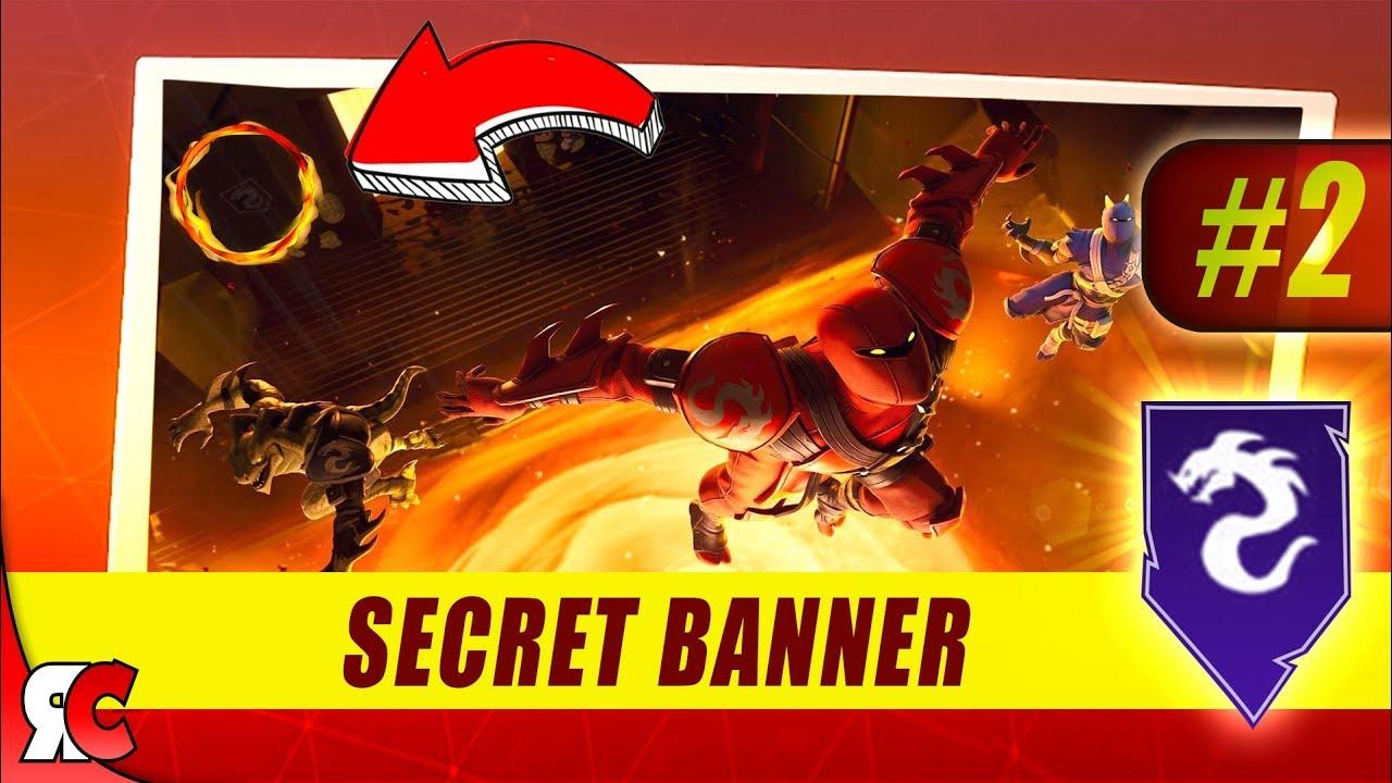 Fortnite Week 2 Secret Banner Location Season 8 Battle Stars