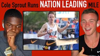 REACTING TO THE FASTEST MILE IN HIGH SCHOOL THIS YEAR