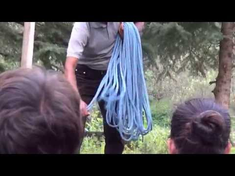 CLIMBING KNOTS AND ROPE COILING TECHNIQUES,ABVIMAS MANALI BASIC MOUNTAINEERING COURSE 315