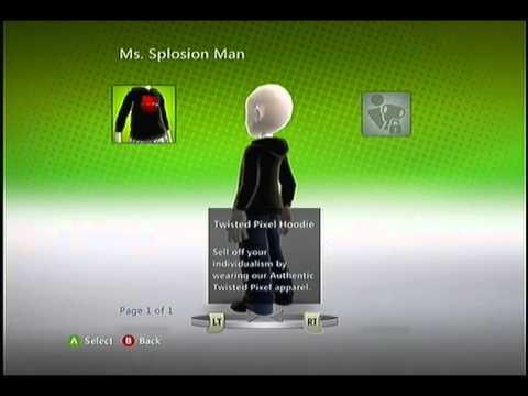Ms. Splosion Man - Twisted Pixel Hoodie