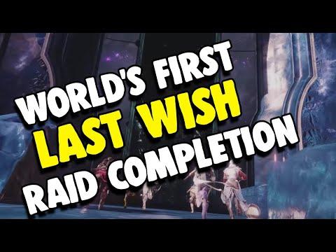 World's First Last Wish Raid Completion by Redeem | Destiny 2