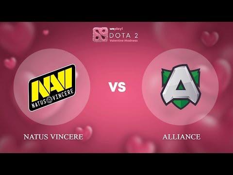 Na'Vi vs Alliance vod
