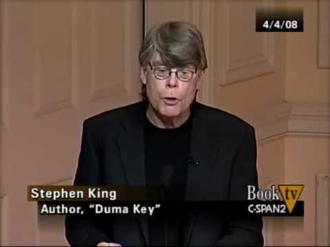 Stephen King Discussion on Writing and Q&A with wife Tabitha King and son Owen King from YouTube · Duration:  56 minutes 33 seconds