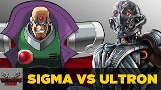 Sigma VS Ultron   DEATH BATTLE Cast thumbnail
