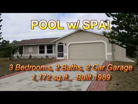 Finished Video! 217 NW 10th Terrace, Cape Coral, FL  33993