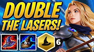 DOUBLE THE LASERS w/ 6 MAGE LUX! | TFT | Teamfight Tactics Set 2 | League of Legends Auto Chess