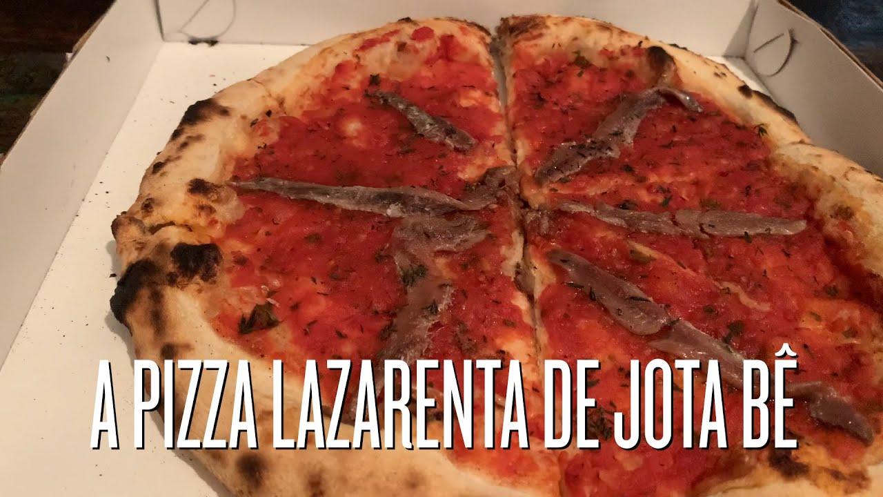 A Pizza Lazarenta de Jota Bê