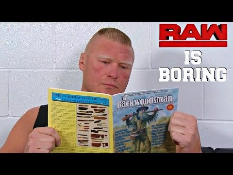 WWE RAW (IS BORING) 7/30/18 REVIEW || How To Ruin Wrestling In 3 Hours || GET NEW WRITERS!