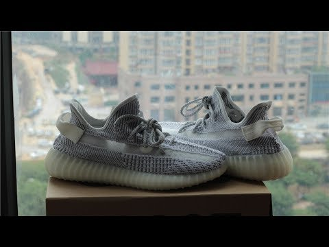 db65cac75e8 ... Feet  Top Quality Adidas YEEZY 350 V2 STATIC (Can pass the Legit  checking) Unboxing Review  Adidas YEEZY Boost ...