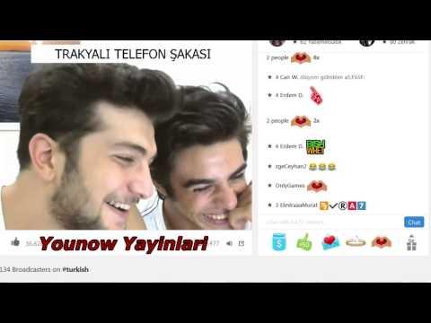 Murat Sakaoglu ve Bilal Aydemir den Trakyali ya Telefon Sakasi