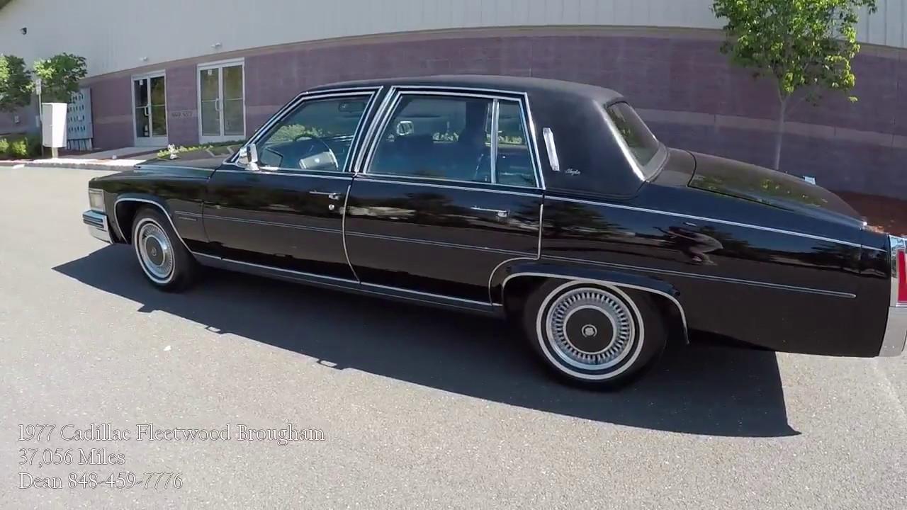 1977 Cadillac Fleetwood Brougham - YouTube