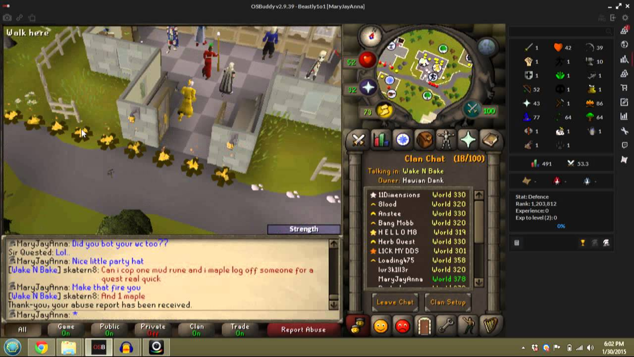 how to make a bot for osrs