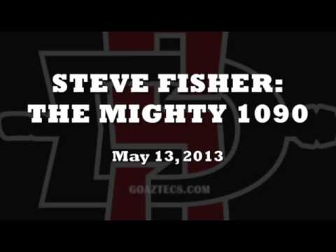 STEVE FISHER INTERVIEW: THE MIGHTY 1090 - 5/13/13