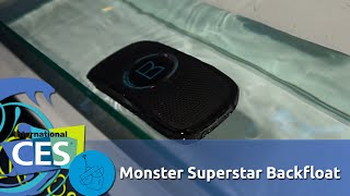 Monster Superstar Backfloat HD Bluetooth Speaker